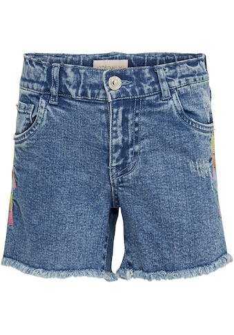 KIDS ONLY Jeansshorts »KONHAPPY«, mit seitlicher Stickerei kaufen
