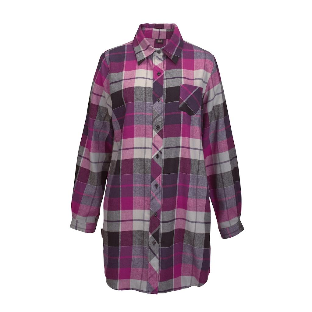 H.I.S Nachthemd, mit Hemdkragen und Knopfleiste