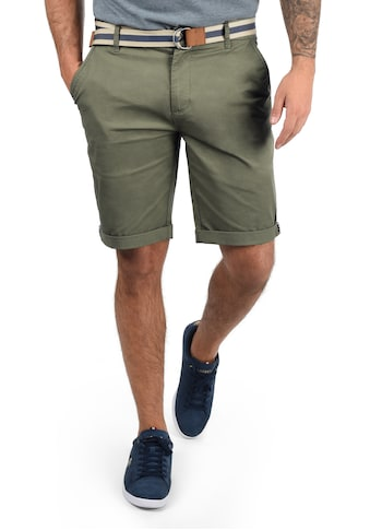 Solid Chinoshorts »Monty«, (mit abnehmbarem Gürtel), kurze Hose mit Gürtel kaufen
