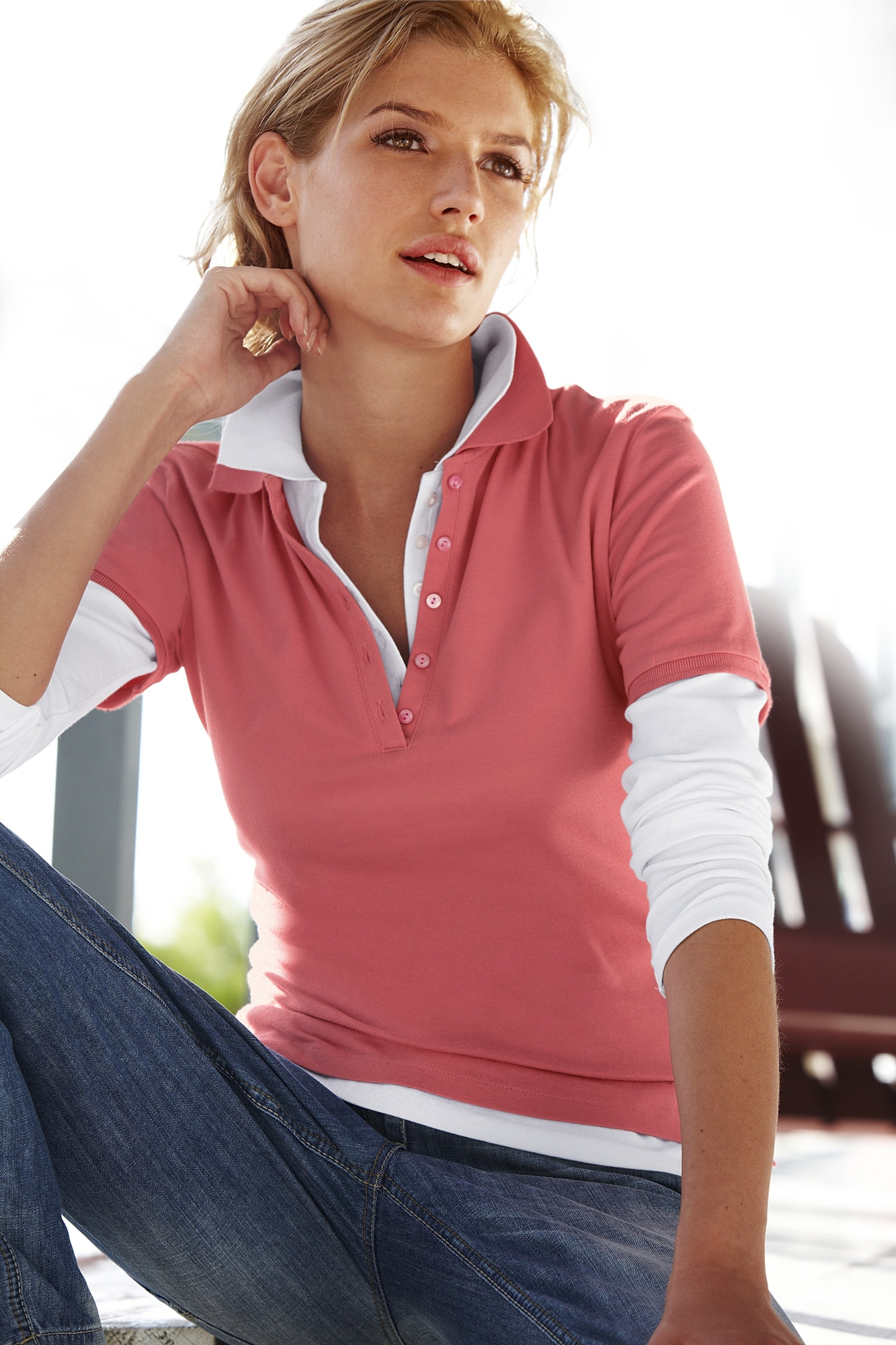 Image of B.C. BEST CONNECTIONS by Heine Poloshirt