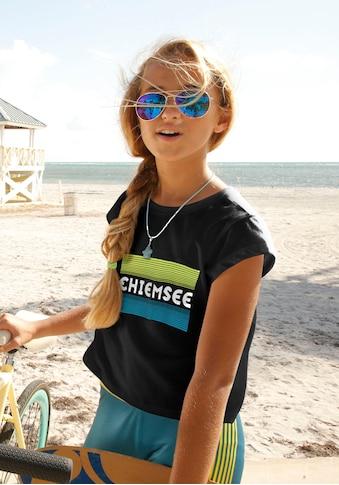 Chiemsee T-Shirt, in modisch kurzer Form kaufen
