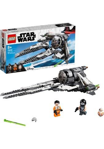 """LEGO® Konstruktionsspielsteine """"TIE Interceptor™ – Allianz - Pilot (75242) LEGO® Star Wars™"""", Kunststoff, (396 - tlg.) kaufen"""