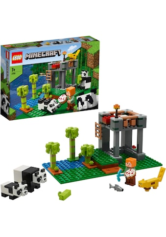 """LEGO® Konstruktionsspielsteine """"Der Panda - Kindergarten (21158), LEGO® Minecraft™"""", Kunststoff, (204 - tlg.) kaufen"""