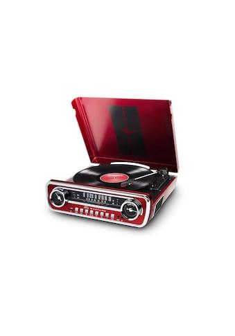 ION AUDIO Stereoanlage »Mustang LP Rot«, ( AM-Tuner-FM-Tuner ) kaufen
