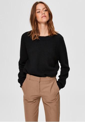 SELECTED FEMME Rundhalspullover »SLFLULU« kaufen