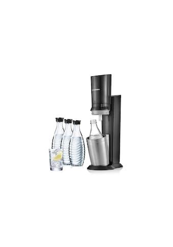 SodaStream Wassersprudler »CRYSTAL Megapack Schwarz«, (Set, 5 tlg.) kaufen
