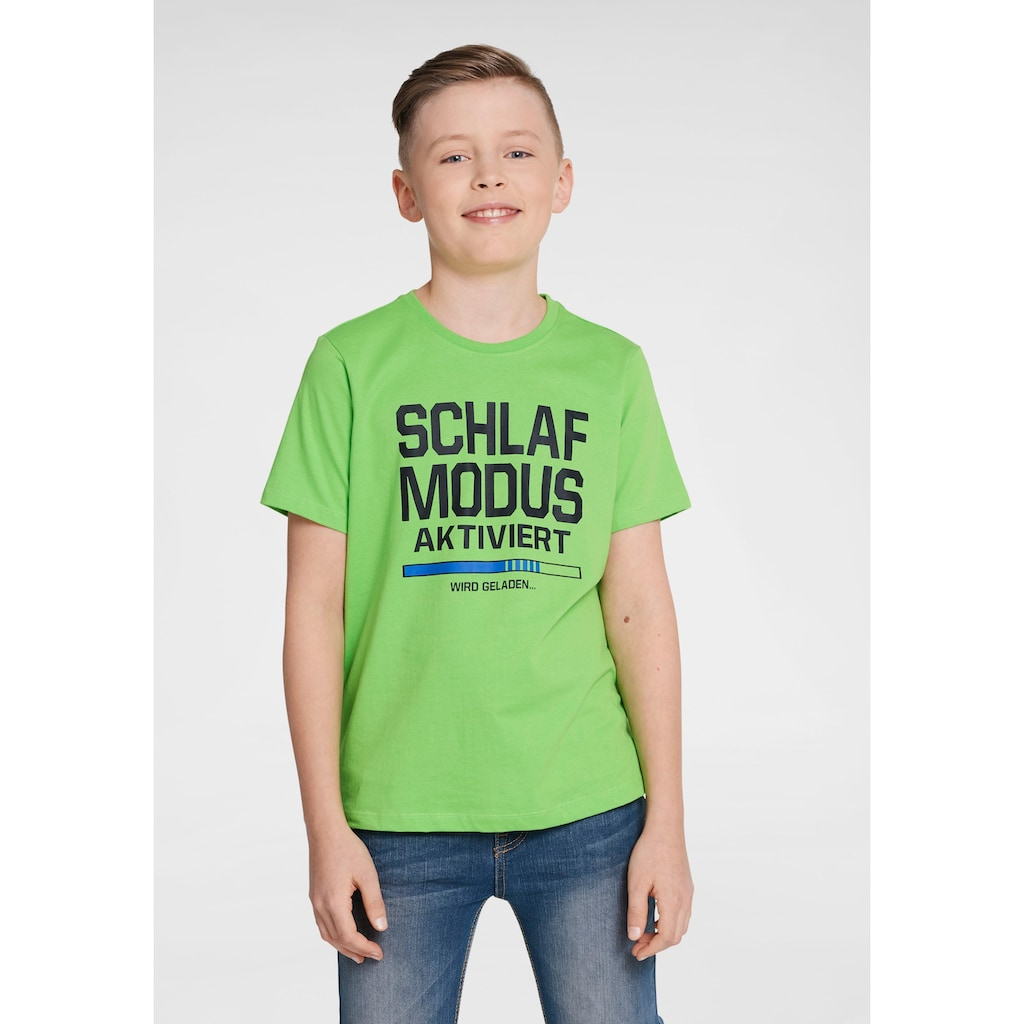 Arizona T-Shirt »Schlafmodus aktiviert«, Druck