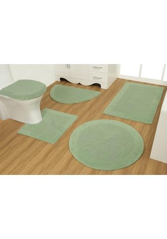 GOODproduct Badematte »Joonas«, Höhe 15 mm, beidseitig nutzbar, aus recycelter Baumwolle kaufen