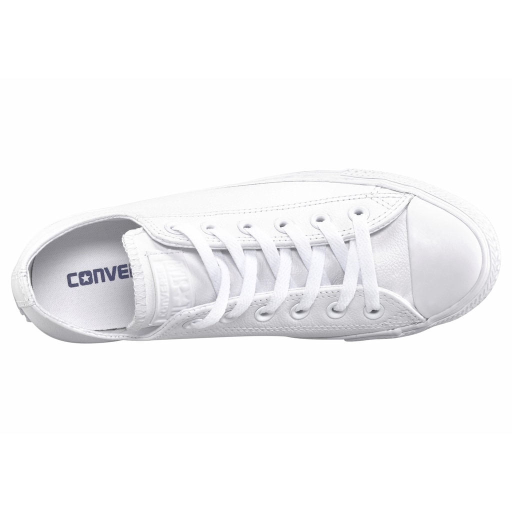 Converse Sneaker »Chuck Taylor Basic Leather Ox Monocrome«