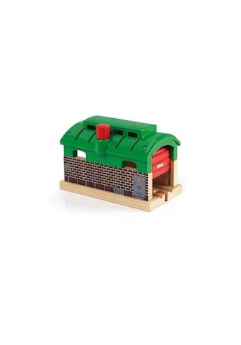 BRIO® Spielzeugeisenbahn-Gebäude »Lokschuppen mit Rolltor« kaufen