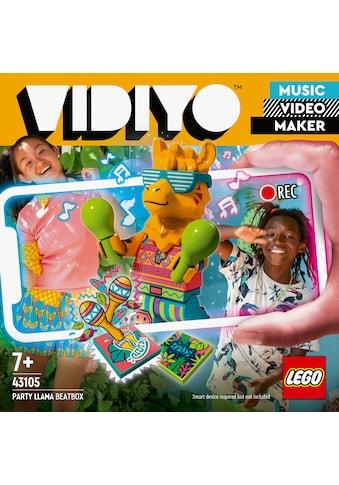 LEGO® Konstruktionsspielsteine »Party Llama BeatBox (43105), LEGO® VIDIYO™«, (82 St.),... kaufen