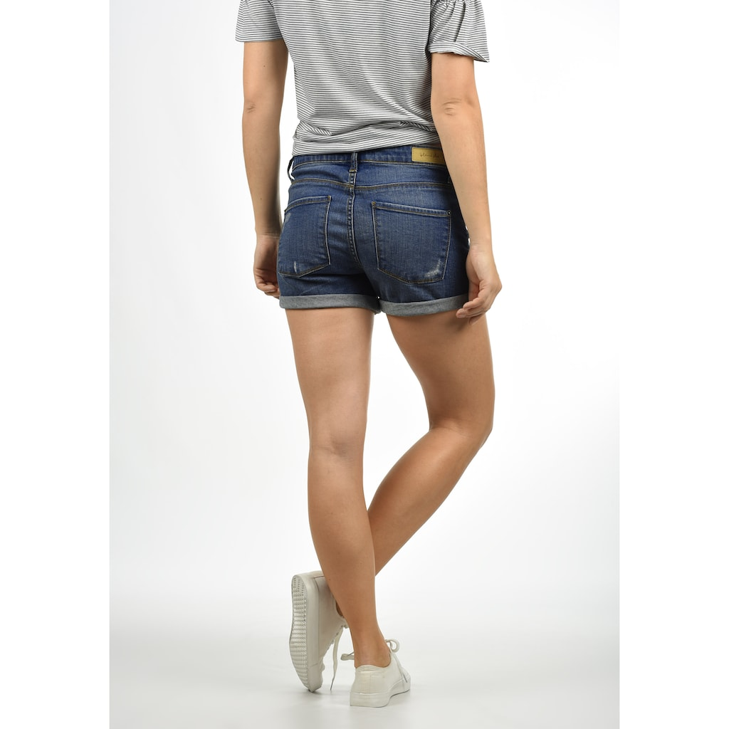 Blendshe Jeansshorts »Andreja«, kurze Hose mit Destroyed-Effekten