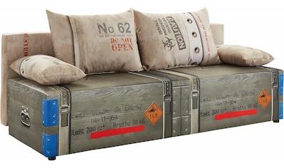 exxpo - sofa fashion Schlafsofa, inklusive Bettfunktion und Bettkasten, wahlweise mit... kaufen