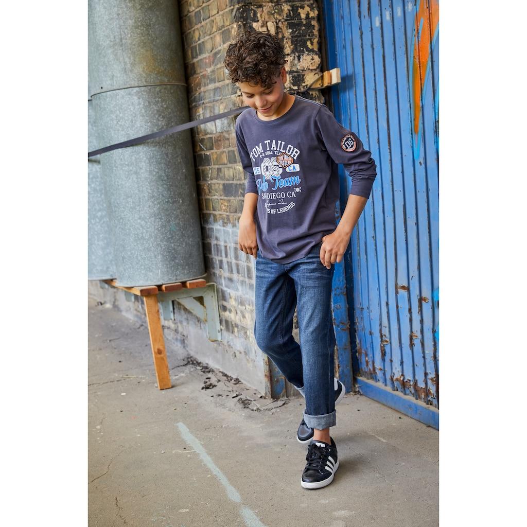 TOM TAILOR Polo Team Stretch-Jeans, reguar fit mit geradem Bein