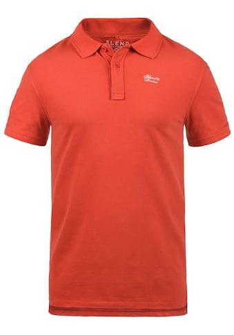 Blend Poloshirt »Dave«, Polo mit Nummern Applikation kaufen