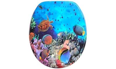 Sanilo WC-Sitz »Ocean«, mit Absenkautomatik kaufen