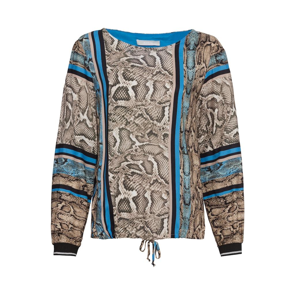 bianca Schlupfbluse »ANRA«, mit coolem Snake-und Streifen Design
