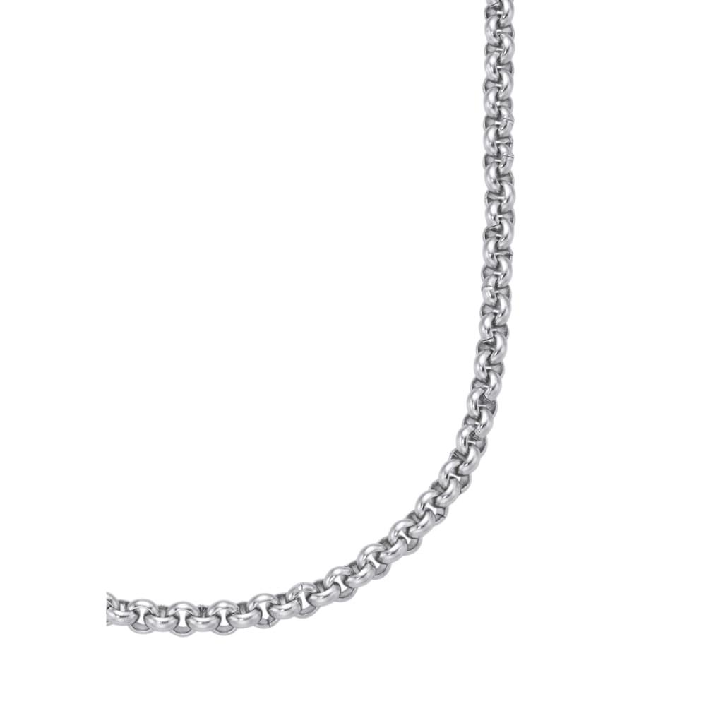 Firetti Edelstahlkette »in Erbskettengliederung, 2,4 mm breit«, Made in Germany