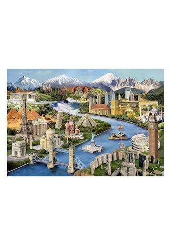 Puzzle »World Land« kaufen