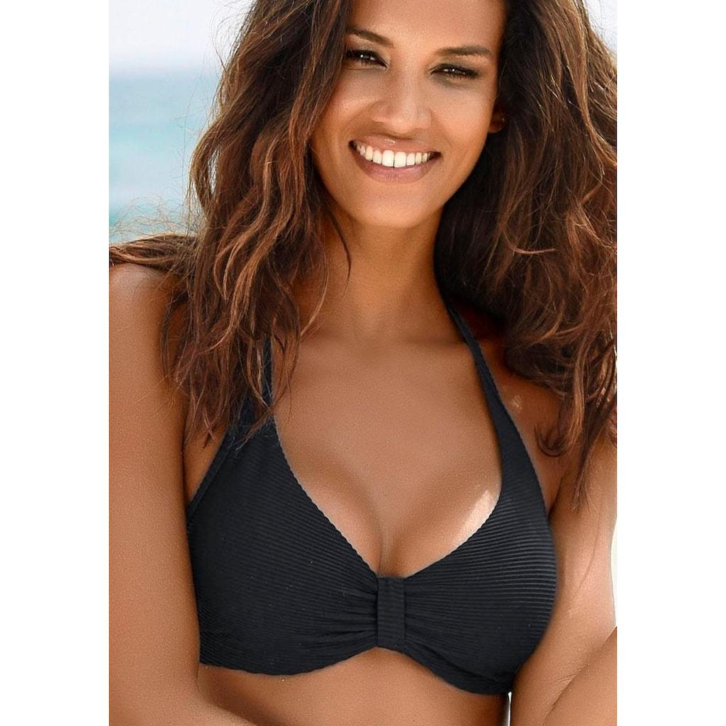 Sunseeker Bügel-Bikini-Top »Fancy«, aus edler Strukturware