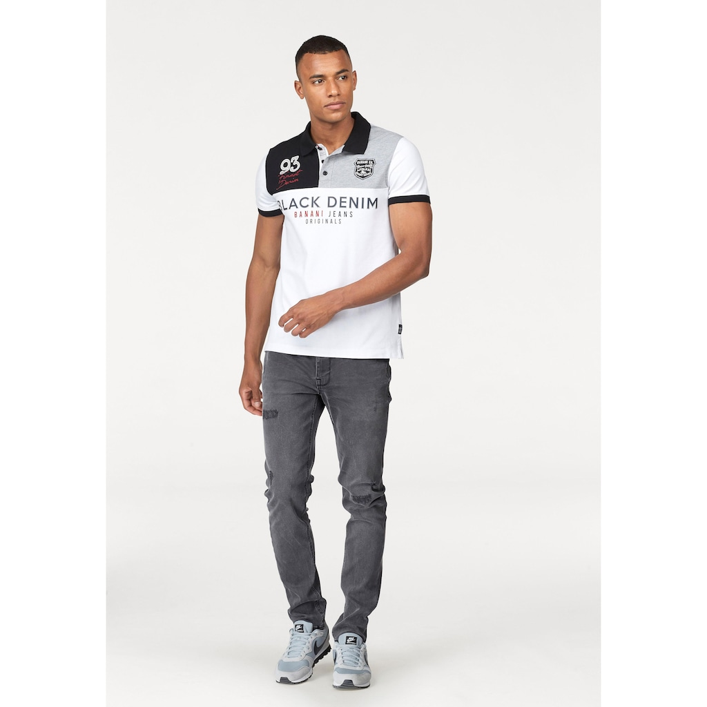 Bruno Banani Poloshirt, hochwertig bestickt