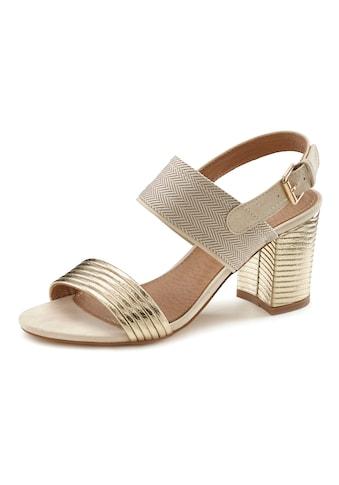 LASCANA Sandalette, mit Blockabsatz kaufen