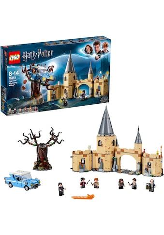 LEGO® Konstruktionsspielsteine »Die Peitschende Weide von Hogwarts™ (75953), LEGO®... kaufen
