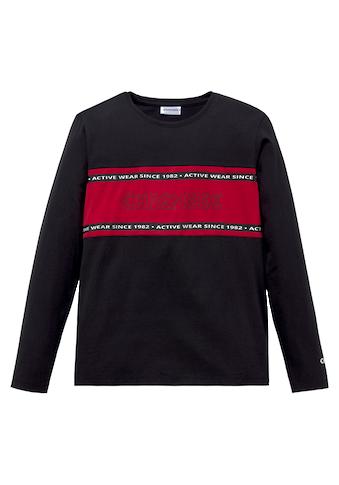 Chiemsee Langarmshirt »mit farbigem Einsatz« kaufen
