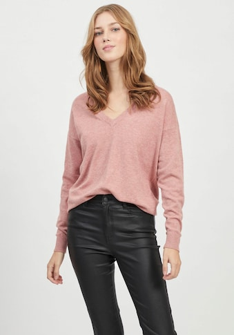 Object V-Ausschnitt-Pullover, aus softem Viskose-Mix kaufen