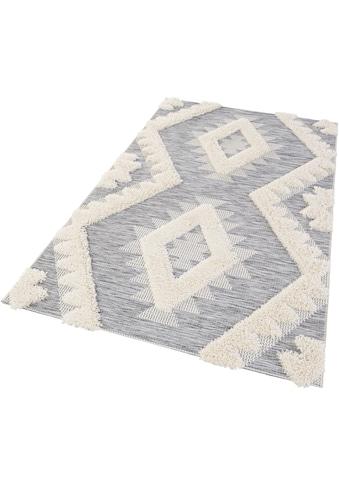 MINT RUGS Teppich »Tiddas«, rechteckig, 35 mm Höhe, In- und Outdoor geeignet,... kaufen