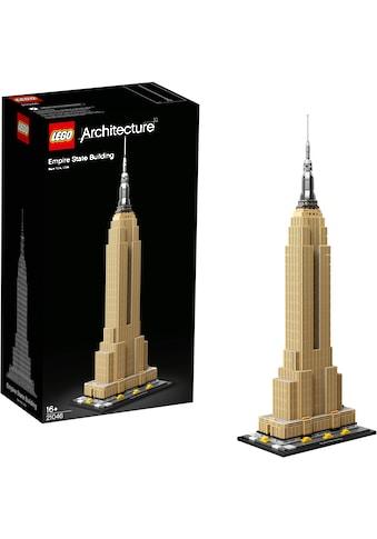 LEGO® Konstruktionsspielsteine »Empire State Building (21046), LEGO® Architecture«,... kaufen