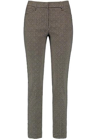 GERRY WEBER Stoffhose, mit Minimalmuster und seitlichem Galon-Streifen kaufen