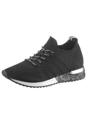 La Strada Keilsneaker »Fashion Sneaker«, mit Metallicdetails am Absatz kaufen
