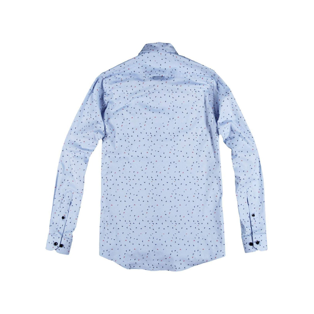 Engbers Popeline-Hemd mit Print