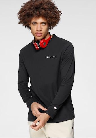 Champion Langarmshirt »CREWNECK LONGSLEEVE« kaufen
