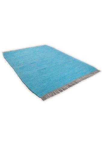 Teppich, »Cotton Colors«, TOM TAILOR, rechteckig, Höhe 8 mm, maschinell gewebt kaufen