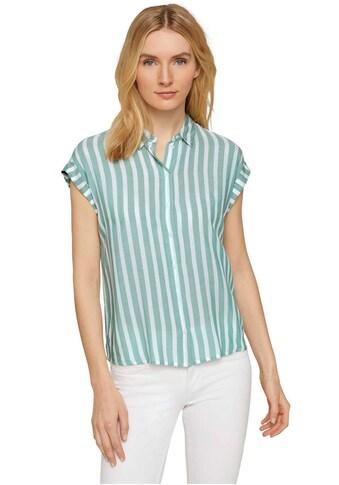 TOM TAILOR Hemdbluse, mit Turn-Ups an den kurzen Ärmeln kaufen