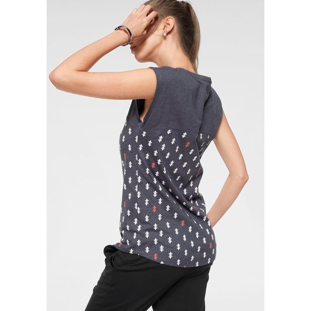 AJC T-Shirt, mit modischem Druck