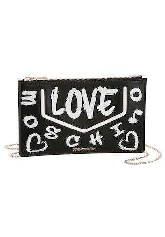 LOVE MOSCHINO Clutch, mit schöner Umhängekette kaufen