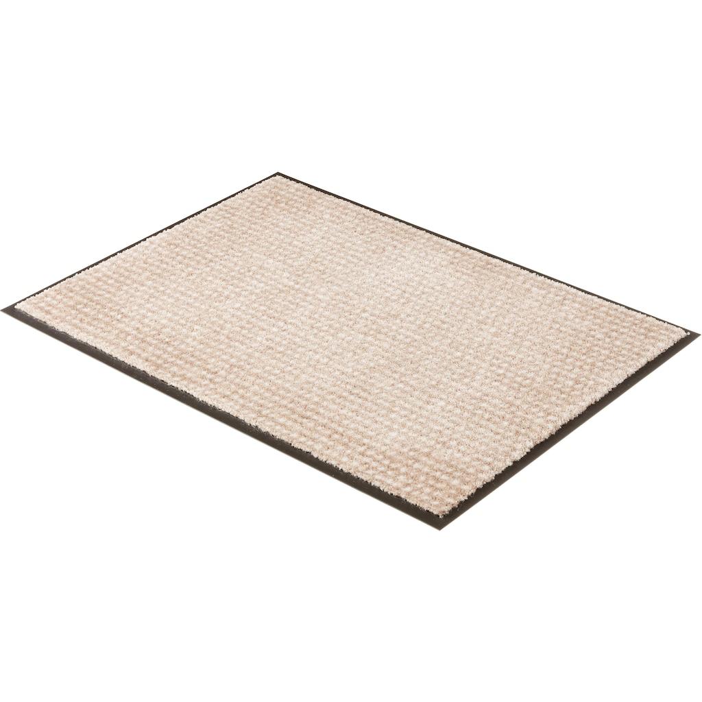 SCHÖNER WOHNEN-Kollektion Fussmatte »Miami 002«, rechteckig, 7 mm Höhe, Schmutzfangmatte, waschbar