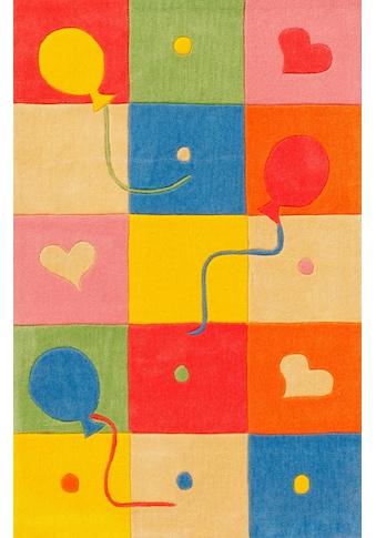 Böing Carpet Kinderteppich »Kids 1361«, rechteckig, 10 mm Höhe, Konturenschnitt kaufen