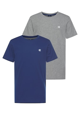 Champion T - Shirt »2 PACK CREW - NECK TEE« (Packung, 2 tlg.) kaufen