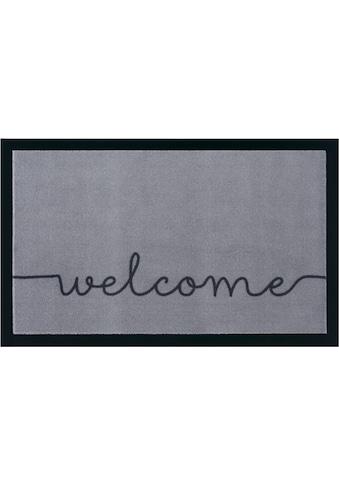Fussmatte, »Cozy Welcome«, HANSE Home, rechteckig, Höhe 5 mm, maschinell getuftet kaufen