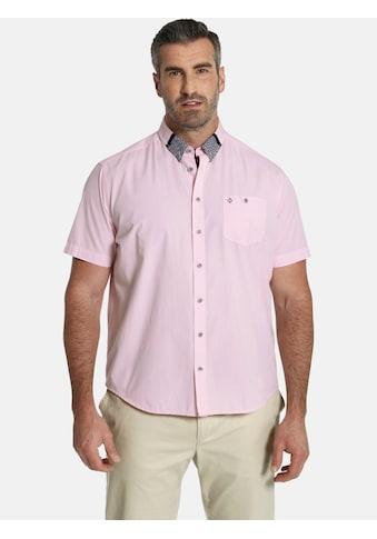 Charles Colby Kurzarmhemd »DUKE GRAYSON«, grafischer Kragen, Comfort Fit kaufen