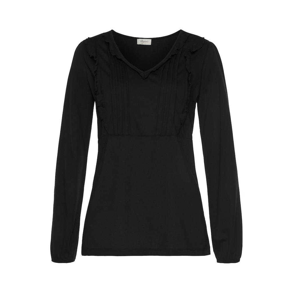 Boysen's V-Shirt, mit romantischen Details