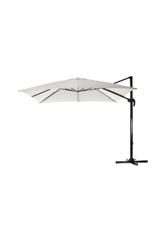 Sonnenschirm »300 x 300 cm, Aluminium, hängend, Natural« kaufen