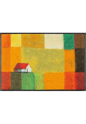 wash+dry by Kleen-Tex Fussmatte »Meadow Lands«, rechteckig, 7 mm Höhe,... kaufen