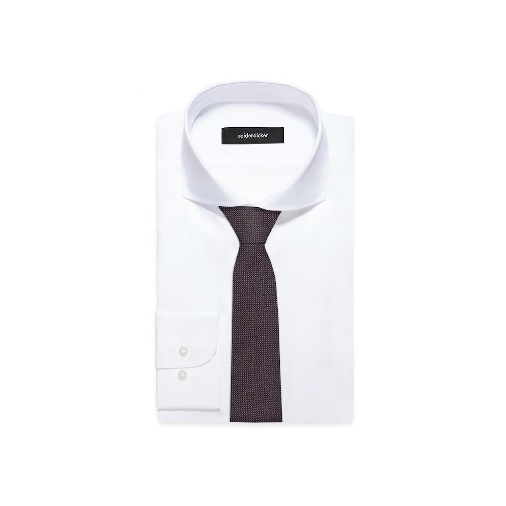 seidensticker Krawatte »Slim«, Schmal (5cm) Uni