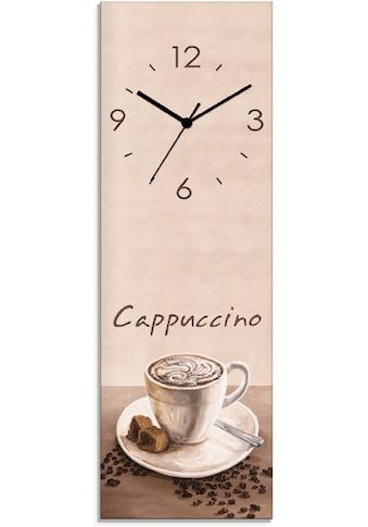 Artland Wanduhr »Cappuccino  -  Kaffee« kaufen
