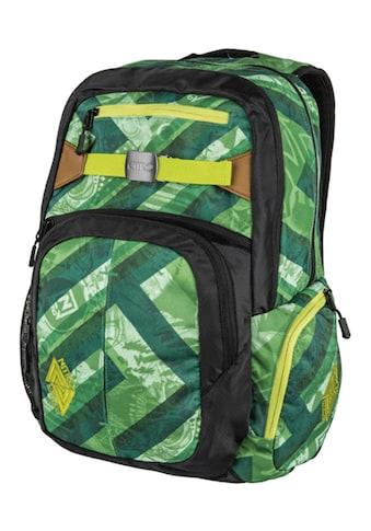 NITRO Schulrucksack »Hero, Wicked Green«, mit Laptopfach kaufen